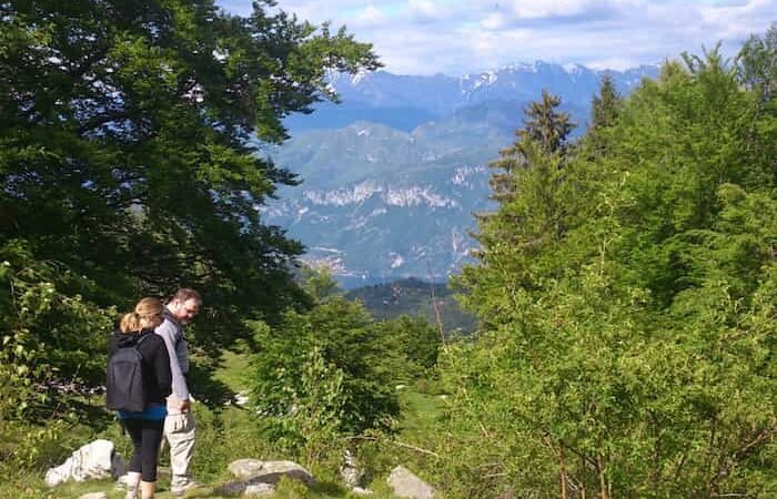 camminate in montagna